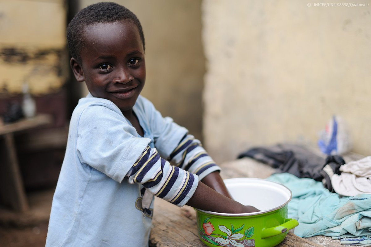 UNICEF's photo on #GlobalHandwashingDay