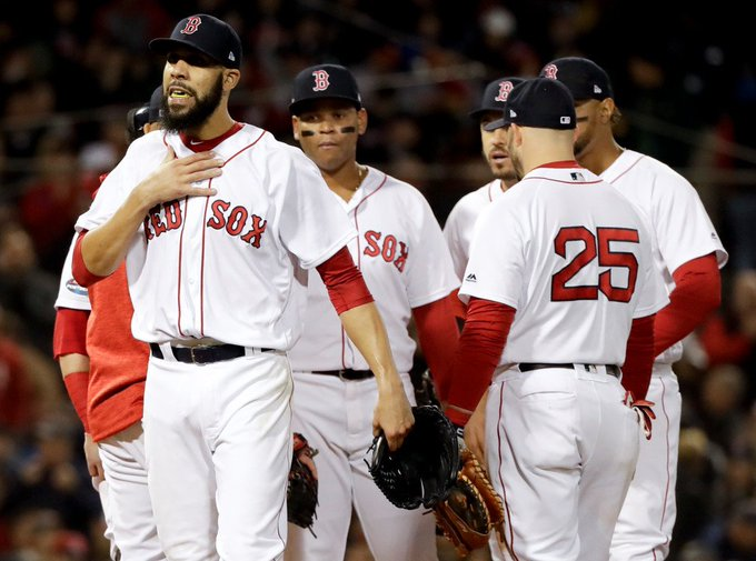 David Price, Boston Red Sox bounce back, beat Houston Astros, tie ... #ColoradoRockies Photo