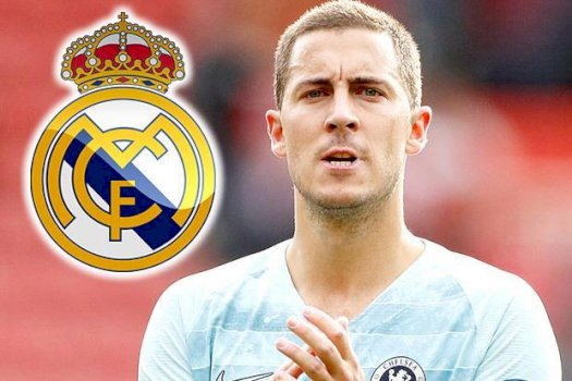 Eden Hazard insists he will never force through 'dream' Real Madrid move and reveals how Chelsea blocked switch lastsummer Foto
