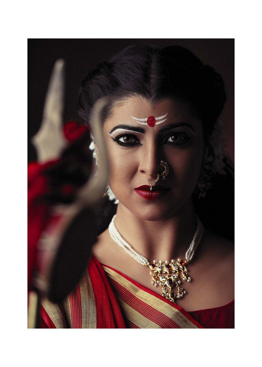 ( षष्ठी ) Katyayani depicts EMPOWERMENT. #navratri #godiskind #lifeisgood #tejaswinipandit