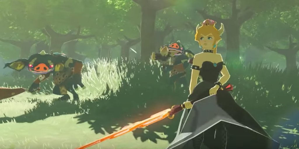 The Legend of Zelda: Breath of the Wild playable in VR on