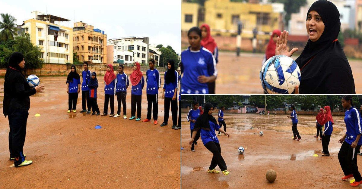 Burqa-clad football coach helps Chennai girls shoot for national goals https://t.co/IXtuyW5nQV via @TOIChennai https://t.co/maGsxp77Ej
