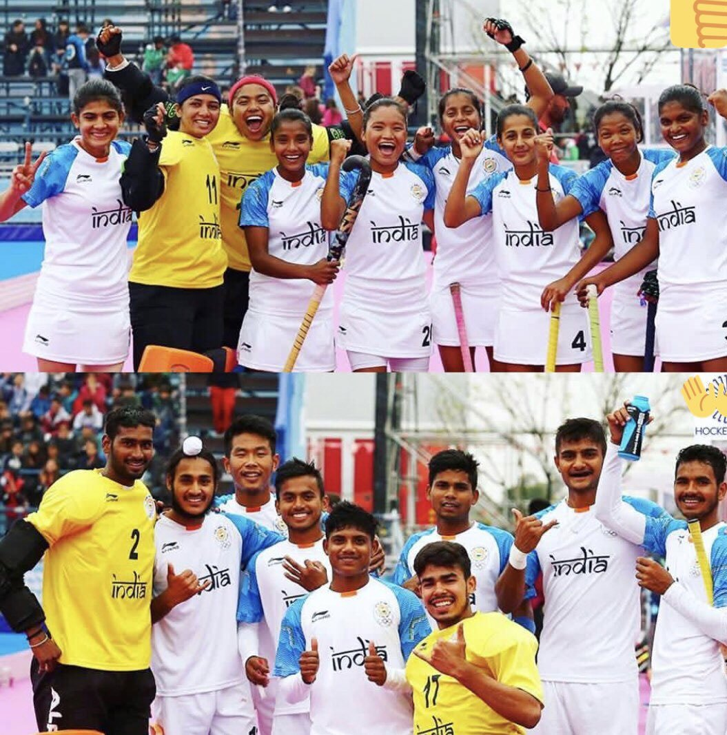 #YouthOlympics   India settle for silvers�� in men's and women's #Hockey5 ��  Report ✍️ https://t.co/qic91DdzJ4 https://t.co/RQ2dvgwikl