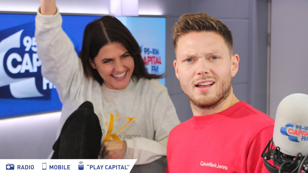 Ok @itswillmanning, @aimeevivian... we just need some nice photos to show that you're on Capital Breakfast this week... could you... just... oh... ok... https://t.co/du34QSITuE