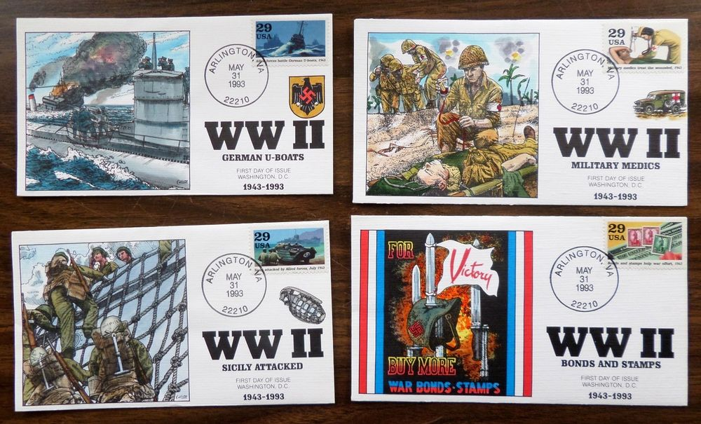 eBay: COLLINS HANDPAINTED FDC's - 8 - WWII - 1993 COVERS MINT https://t.co/TwzQH4rqTw https://t.co/RzKEE9z2h9