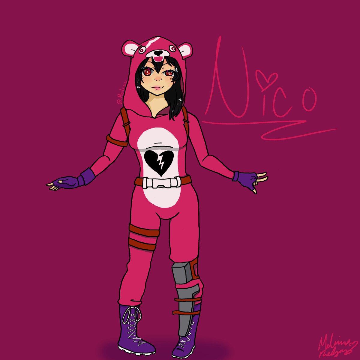 Nico Yazawa x Cuddle Team Leader for @SmugZebra #LoveLive #Fortnite <br>http://pic.twitter.com/FeIiOLgYnf