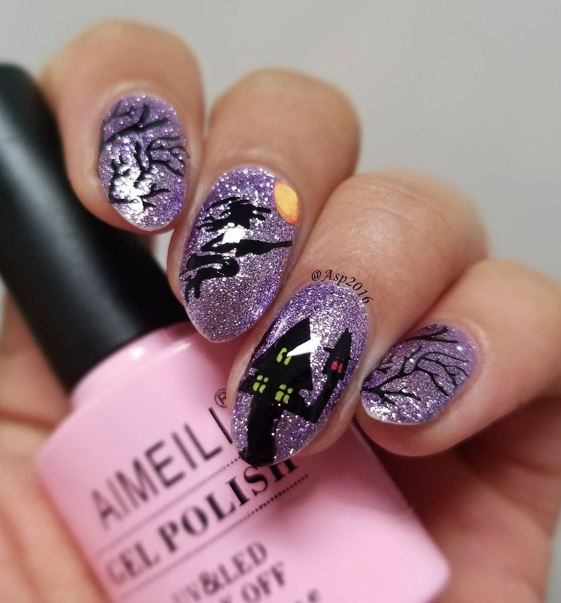 Gel Nail Designs Autumn 2018 - different nail designs