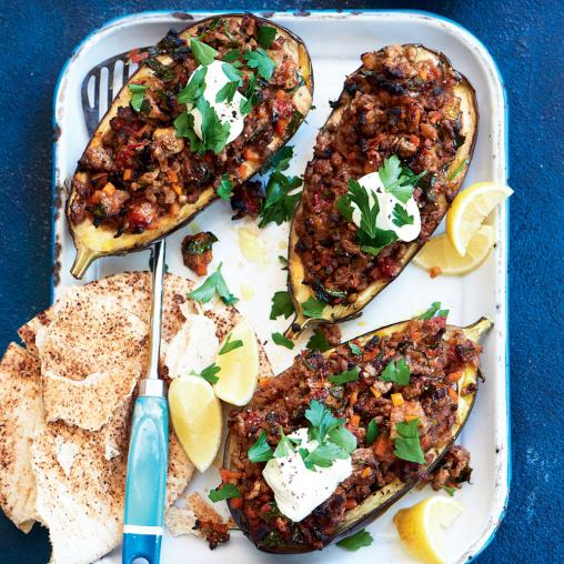 Lebanese lamb-stuffed eggplants make a perfect low-kJ dinner! https://t.co/Tv6Pe6eRBZ https://t.co/EQPr9i5xeo