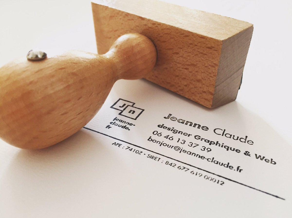 Jeanne Claude On Twitter Aprs Les Cartes De Visite Le Tampon Encreur Freelance AuServiceDeLaFrance Poke Zigazou