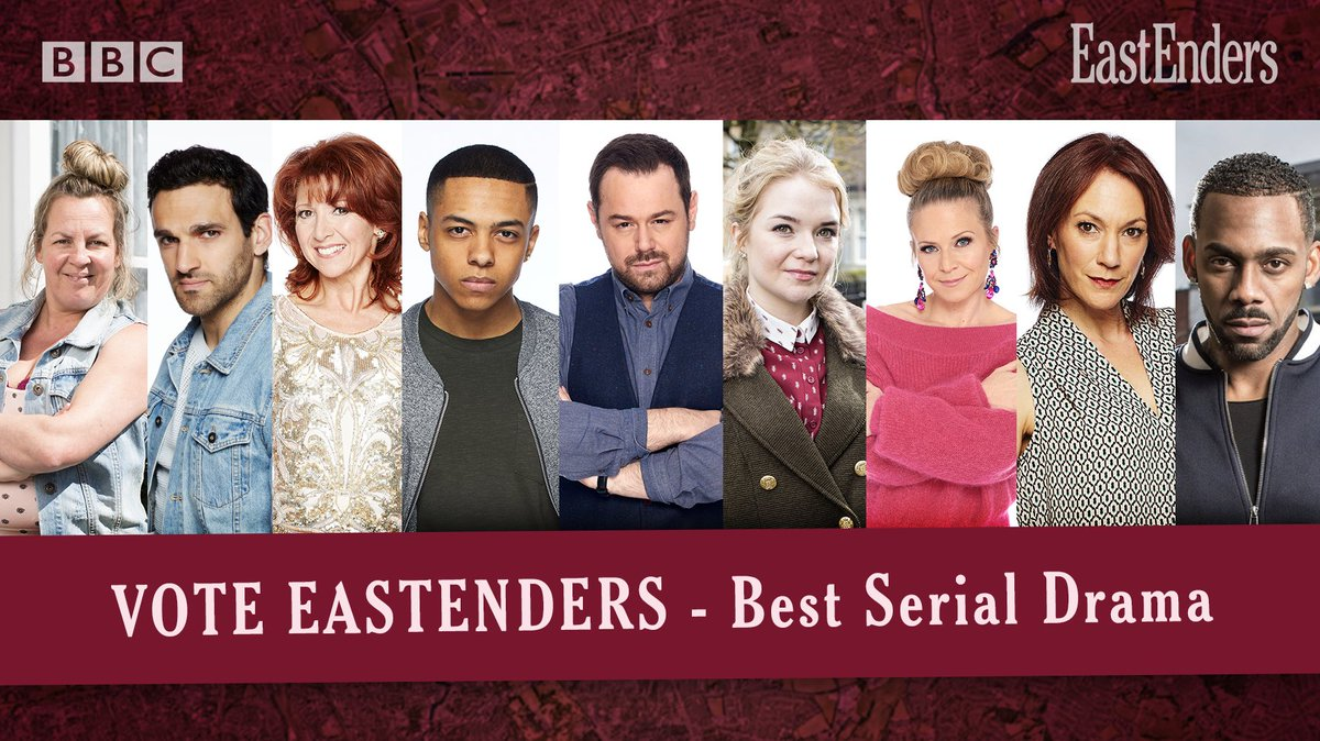 Can you Adam and Eve it, voting for the @OfficialNTAs 2019 has started!   Show you care - #VoteForTheSquare - https://t.co/MKKof2Eas2  #EastEnders