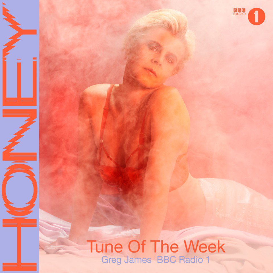 Thank you @gregjames for making Honey the @BBCR1 Breakfast Show 'Tune of the Week'.