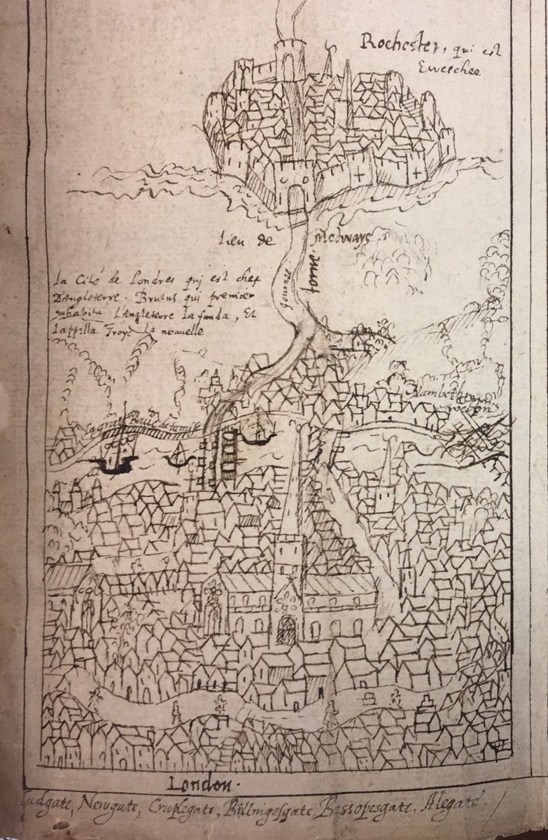 London 1600 Map.Map Library On Twitter Hasn T It Grown Here S William Camden S C