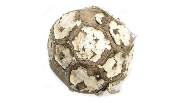 Retweet if you remember using balls like this to play football as a kid!