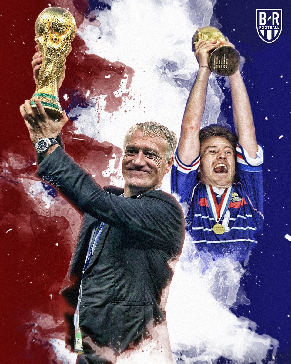 Happy birthday to Didier Deschamps, World Cup winner as a manager and player before the age of 50 🏆