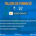 Image for the Tweet beginning: Tallers de Formació al desembre. Barcelona: