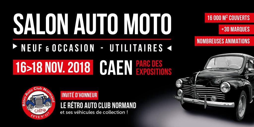 #salon #auto #moto #Caen 🚗🏍 Le Rétro Auto Club Normand et ses véhicules de collection seront à l'honneur du 16 au 18 novembre au #ParcExpoCaen ! 🙌⭐ https://t.co/bMXMkHolgj