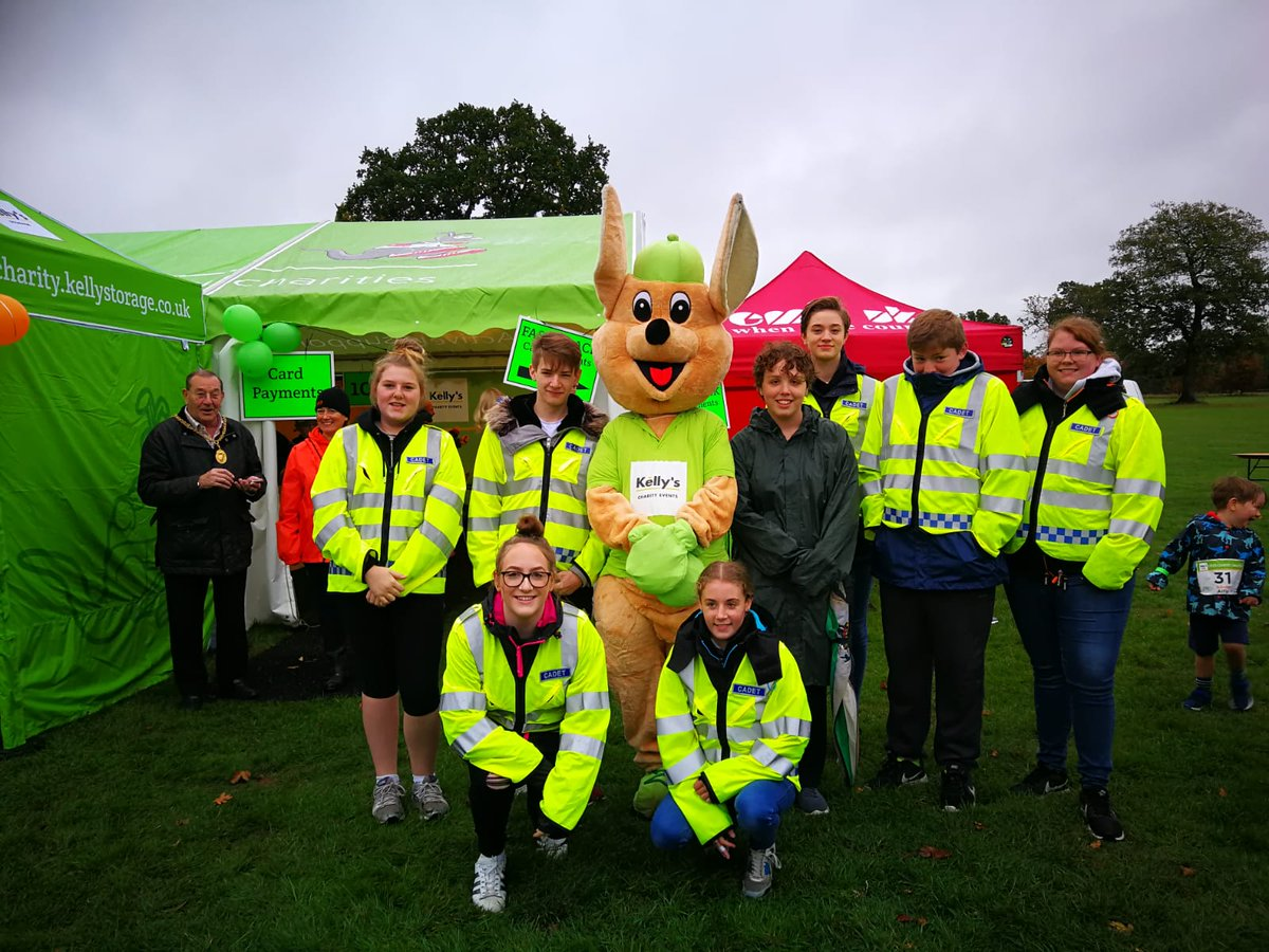 RT @CadetsSurrey Cadets from @GuildfordBeat and @WokingBeat volunteering at the Kelly's Cross Country Challenge held @LoseleyPark. #volunteering #police @nationalvpc @SurreyPolice