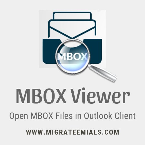 Open Mbox File In Outlook