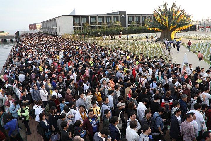 日曜日のSKEラグーナテンボスライブ、ものすごくたくさんの来場者数だったことが明らかに