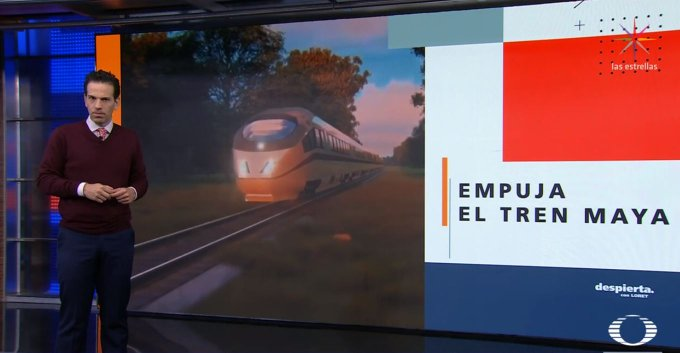 AMLO enfrenta críticas por el tren maya; acusan que el proyecto dejará devastación ecológica, pero él responde que NO. #DespiertaConLoret sigue el programa completo en TW: Y FB: Foto