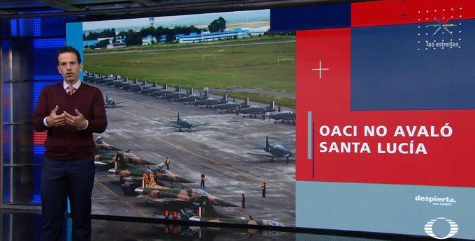 La OACI aclara que NO avaló el aeropuerto en Santa Lucía como explicó el equipo de AMLO. #DespiertaConLoret sigue el programa completo en TW: Y FB: Foto