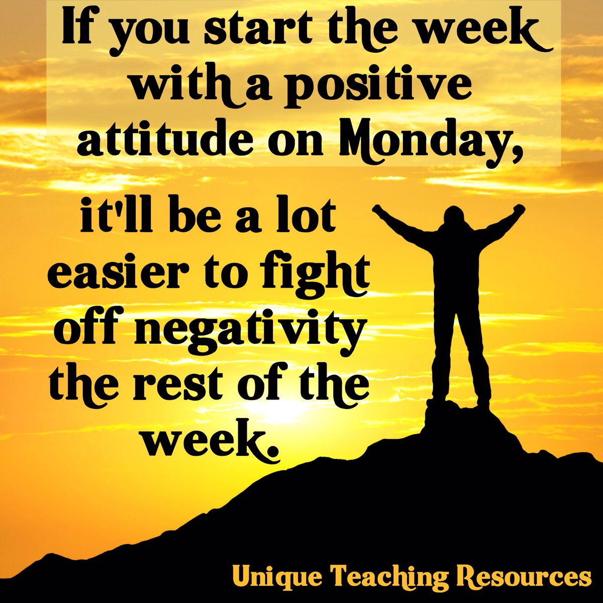 Hello Monday &amp; good morning friends! Positive thoughts for the new week, new discoveries, new adventures in teaching &amp; learning!  #bfc530 <br>http://pic.twitter.com/NkgkM9GuUr
