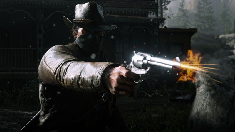 INFO: Red Dead Redemption 2&#39;s campaign is 60 hours long, with 5 hours cut from the game. (Vulture) <br>http://pic.twitter.com/LOCvAdgnW8