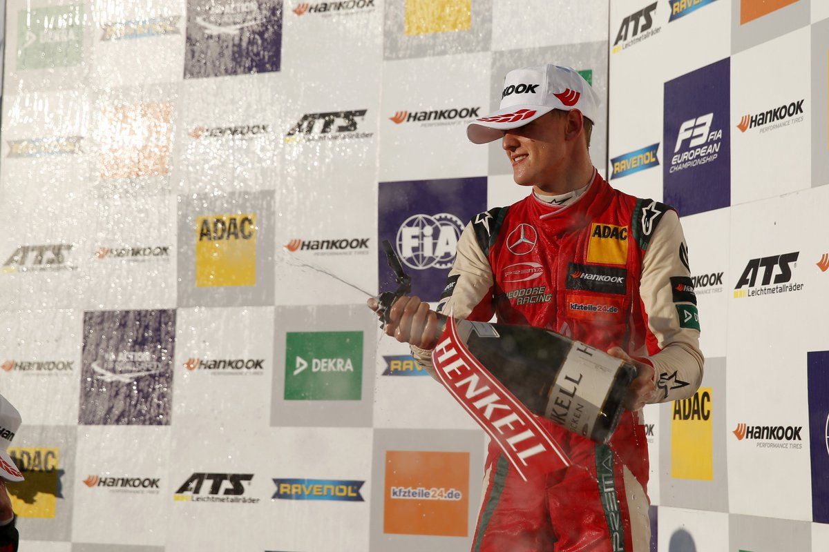 CHAMPION! 🏆🍾🎉  Congratulations to @SchumacherMick who won the 2018 Formula 3 European title at Hockenheim over the weekend (and he did it with a race to spare 💪)