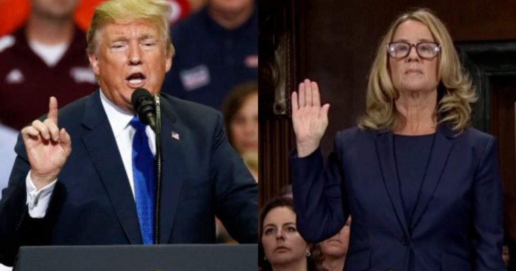 Trump on his treatment of Christine Blasey Ford at rally: 'It doesn't matter. We won.' https://t.co/jPn03kePG7