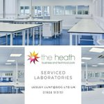 Image for the Tweet beginning: Laboratory spaces are still available