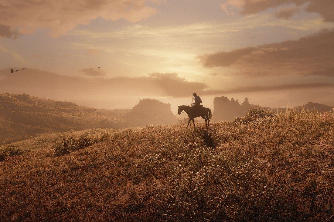 According to a new interview, Red Dead Redemption 2&#39;s main story is ~65 hours long  Much more here:  http://www. vulture.com/2018/10/the-ma king-of-rockstar-games-red-dead-redemption-2.html &nbsp; … <br>http://pic.twitter.com/sKLb3R5bag