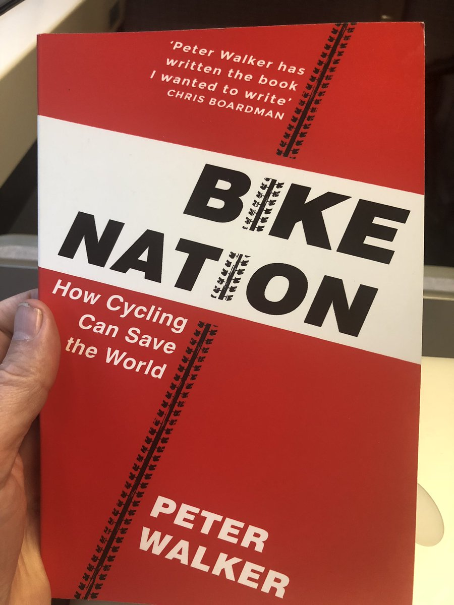 Great book on bikes and how they can save the world by @peterwalker99.
