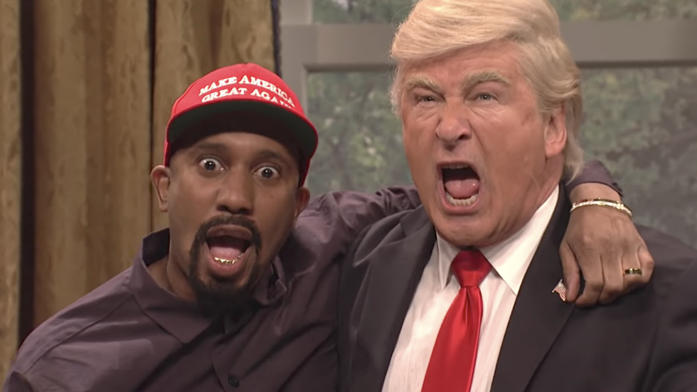 WATCH: Alec Baldwin returns to SNL to mock Trump meeting with Kanye West https://t.co/e3JC5NDKsx