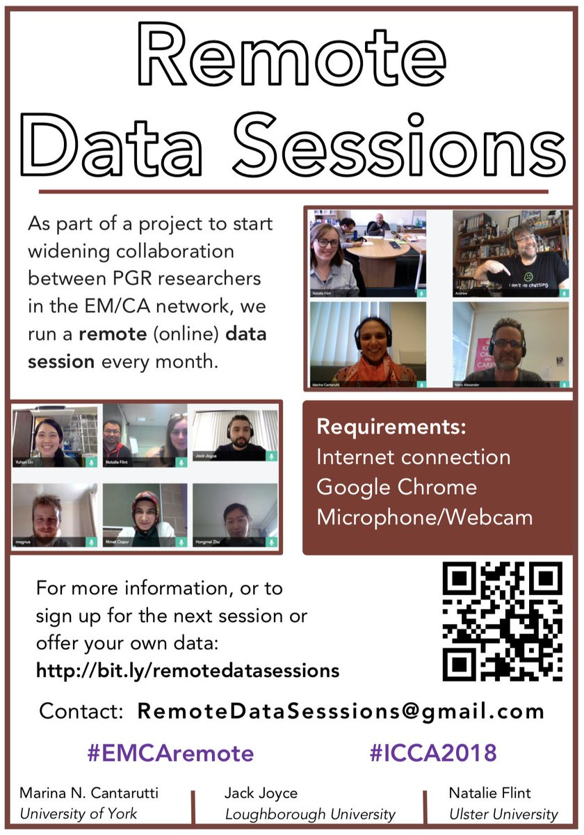 Tilly Flint On Twitter The Next Remote Data Session Will Be Starter Sign Up Here Https Sitesgooglecom Yorkacuk Remotedatasessions Home Jackbjoyce Pronbites Tillyflint29 Darg Sessions Cardsatuu Emcaremote