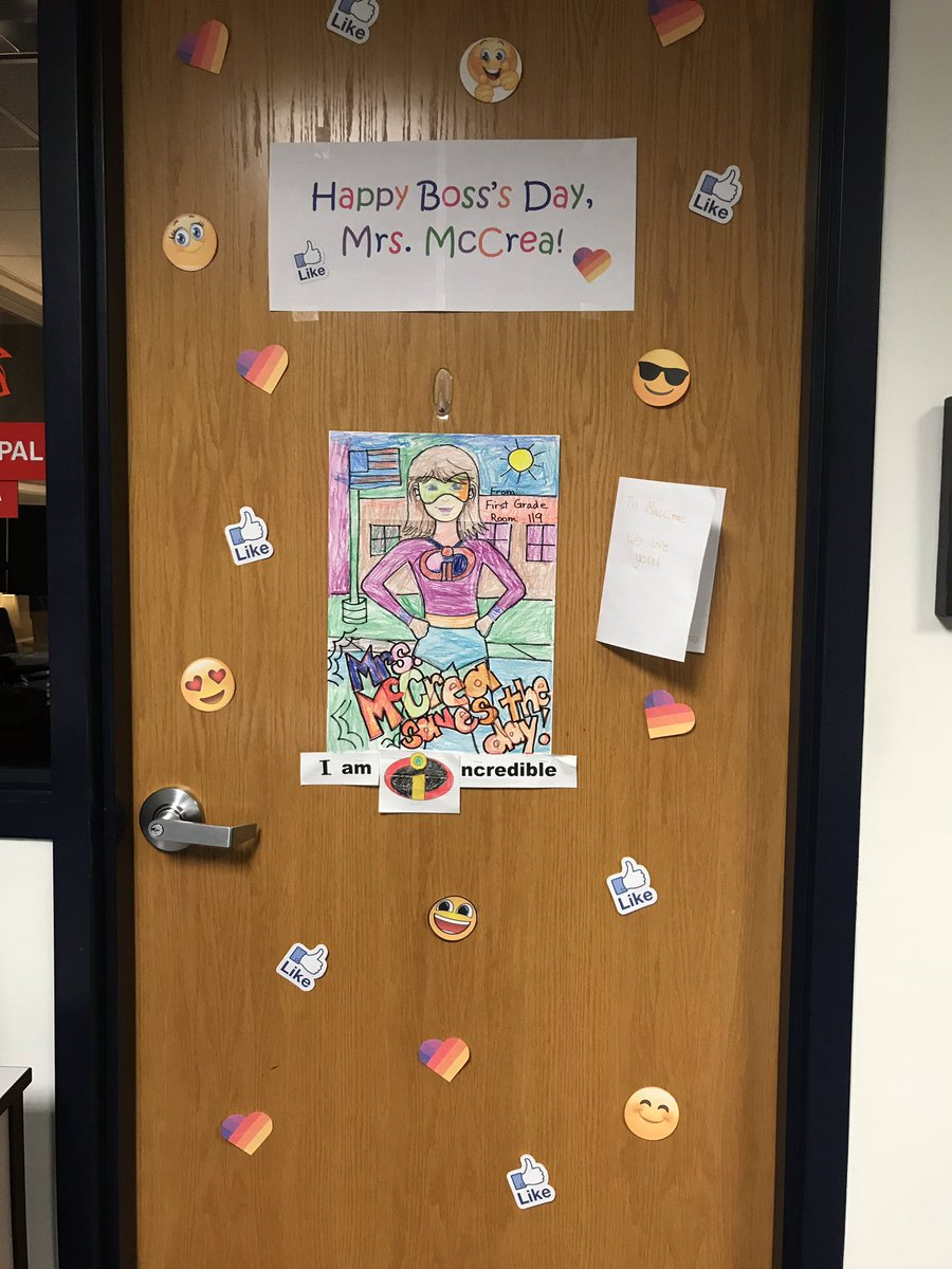 """I walked in to this, this morning! While I am nobodies """"Boss"""", it definitely warmed my heart!!❤️"""