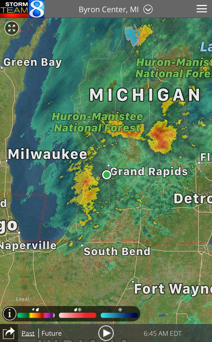 A wet & chilly morning will give way to a sunny & chilly afternoon!  Get the latest weather updates from Storm Team 8:  https://t.co/ntp4Y2j9z5#wmiwx