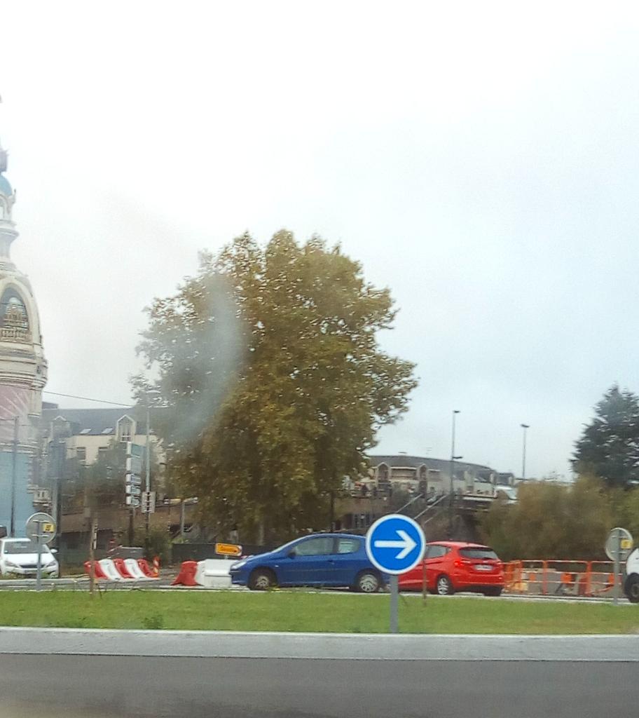 #cdanslair il pleut sur Nantes et l \