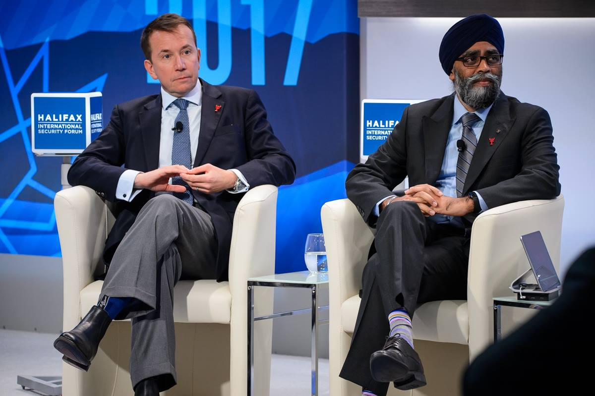 test Twitter Media - With #HISF2018 on the horizon, we are fondly remembering last year. We began #HISF2017 with opening remarks from HISF Pres. Peter Van Praagh, Michèle Coninsx Asst. Sec Gen & Exec. Dir. of @UN_CTED, @scottbrison Pres. of @TBS_Canada & @HarjitSajjan Minister of @NationalDefence. https://t.co/xIwYn5F0E1