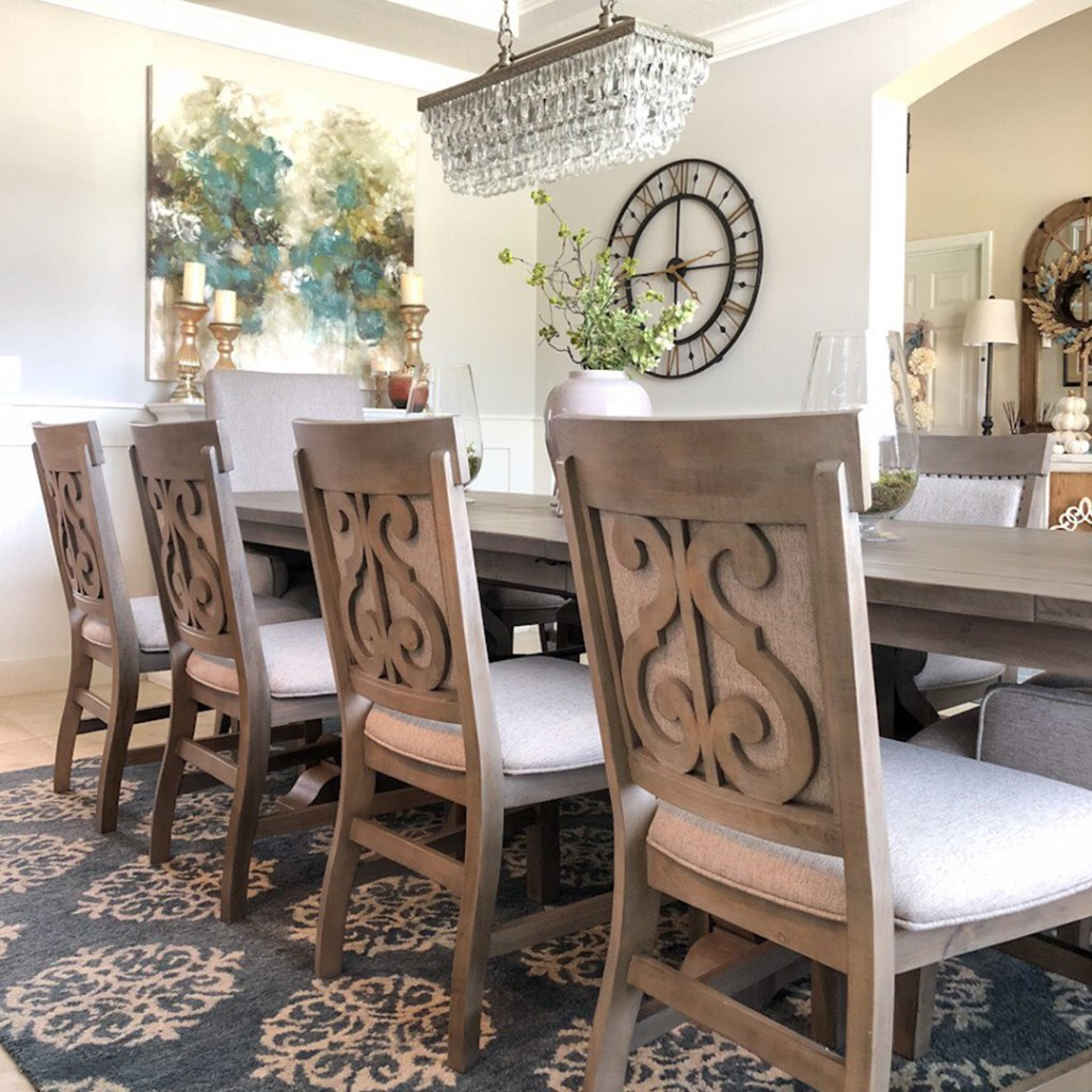 American Signature Furniture Support On Twitter Our Style Insider Themellionaire Is Ready For The Season Of Feasting And Festivities With This Dining Room Makeover Featuring The Charthouse Collection Learn More Https T Co 8lzuhcw4q4 Https T