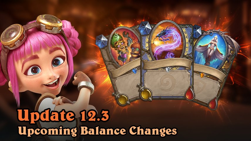 """Hearthstone ar Twitter: """"The following cards will be changed in an"""