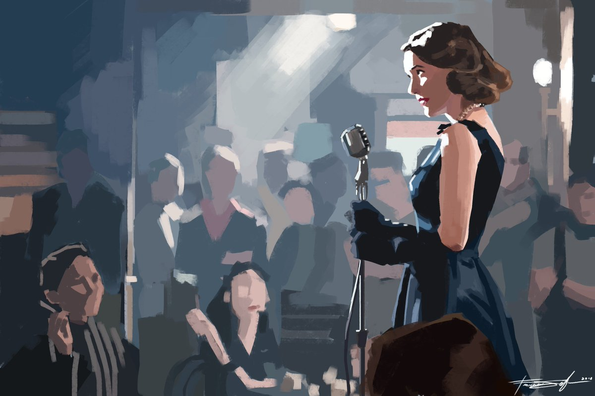 Another rewatch? another rewatch #marvelousmrsmaisel @MaiselTV #rachelbrosnahan #amazonvideo #fanart #digitalpaint<br>http://pic.twitter.com/dWrLYZFU9N