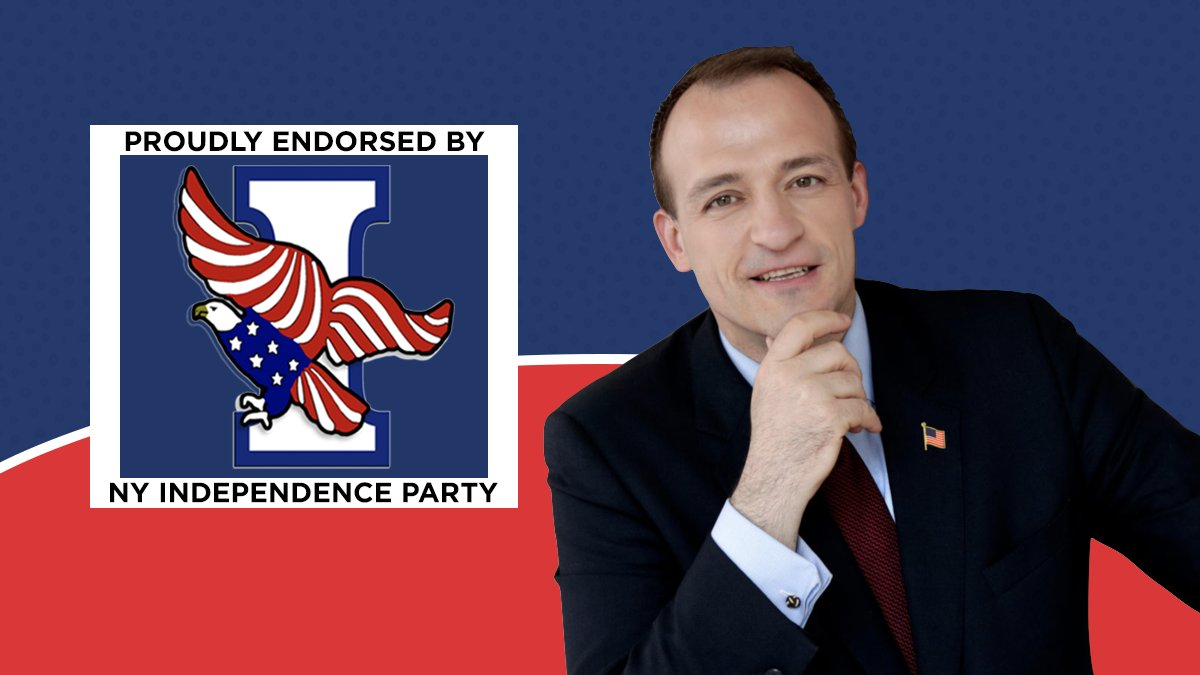 I'm honored and thrilled to have the support of the Independence Party of New York. Partisan politics is a bridge to nowhere. I look forward to working with people from all sides to do what's best for our district. #Gashi4NY #IndependenceParty #NewLeadership