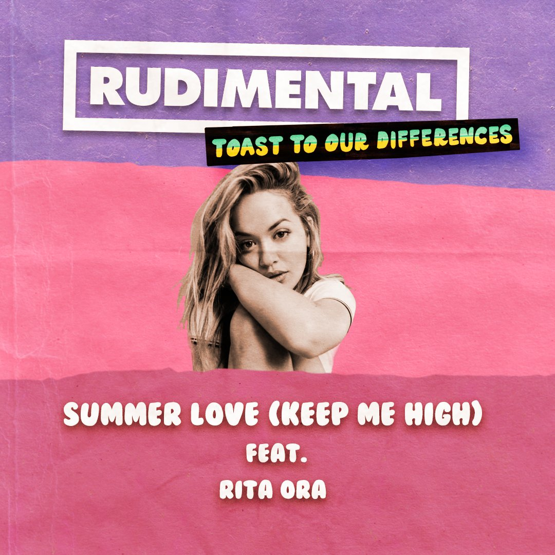 """Excited to announce that I'm featuring on the new @RudimentalUk album """"Toast To Our Differences""""! Can't wait for you to hear this#T2OD!   Pre-order your copy here:https://t.co/xoSpt1u4yA"""
