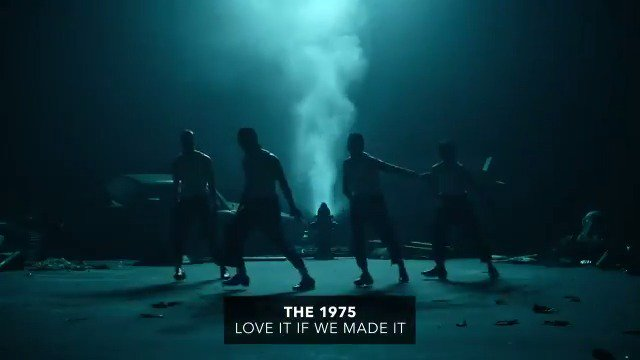 🖤 @the1975s video for Love It If We Made It is here and its an emotional, chaotic painting of the world were in. ▶︎ youtube.com/watch?v=1Wl1B7…