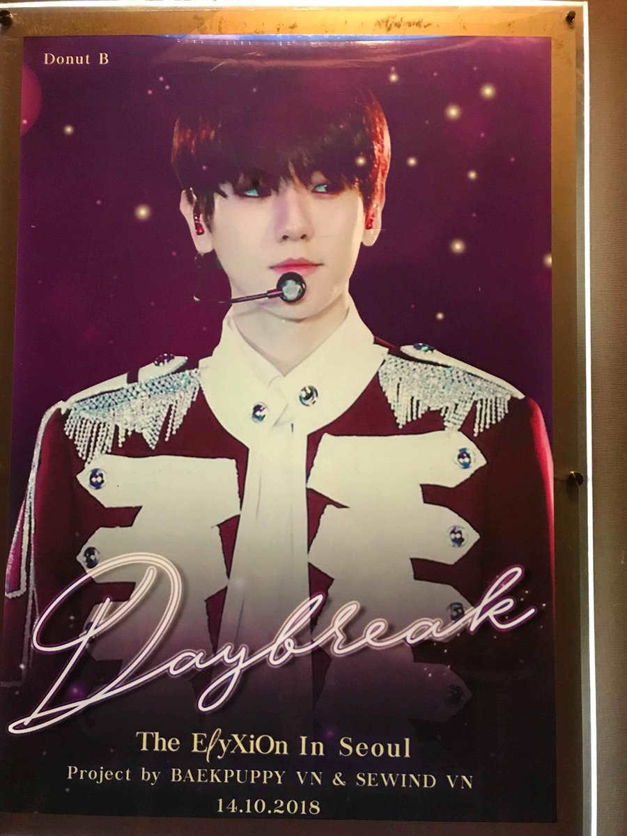 #DAYBREAK_2018 1st DVD screening offline for V-Eris from BaekPuppy VN &amp; SeWind VN  Thank you so much @EXO_Serendipity @DonutB_56 @alovespell5612 master-nims for allowing us to use your precious photos to make posters, they are awesome!  #baekpuppyvn #sewindvn #EXO #엑소 #에리<br>http://pic.twitter.com/hzLDCd1jh1