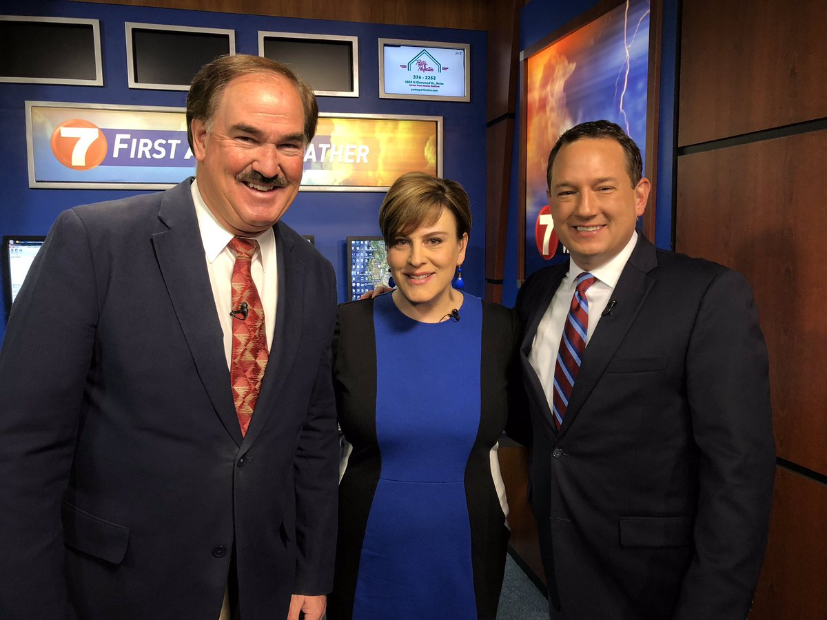 So great to have @maggieKTVB7 back. We miss her as much if not more than you. Now with @DougPetcashKTVB I feel our work family is back together.