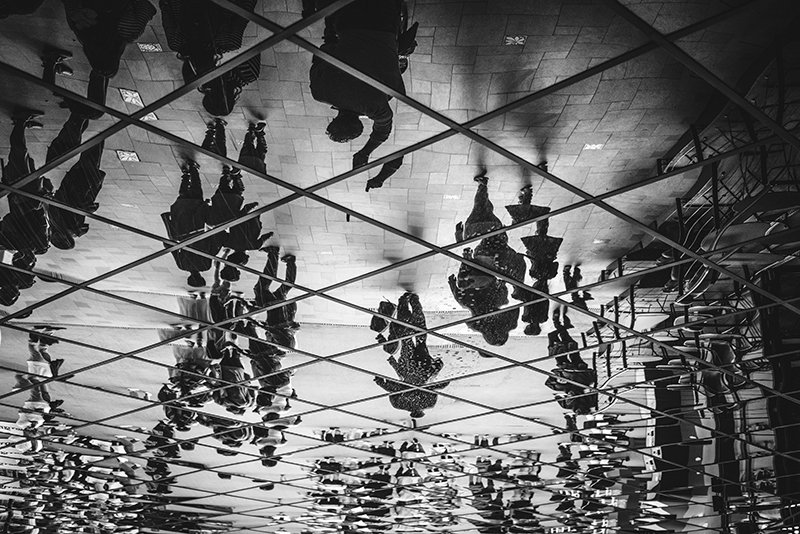 Upside down. shutterstock.com/image-photo/pe… #people #monochrome #mirror #blackandwhitephotography #photographer