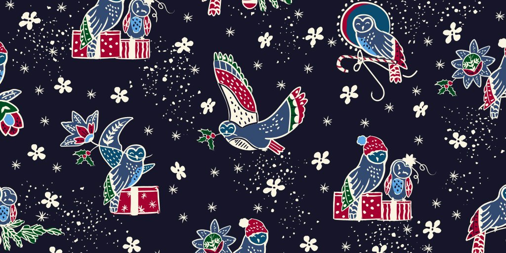 100a38940978 Our latest pattern is a hoot! (Sorry we had to) Catch all the inspiration  behind our highly-anticipated holiday pattern
