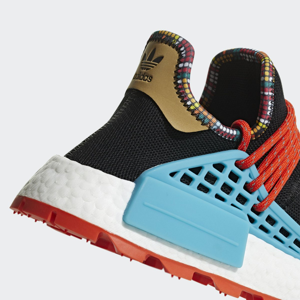 809ce9160 Official Images of Pharrell x adidas NMD Hu Inspiration Pack  Core Black  Blue  releasing in November http   bit.ly 2yAvnsi pic.twitter.com DUPuOuWTzb