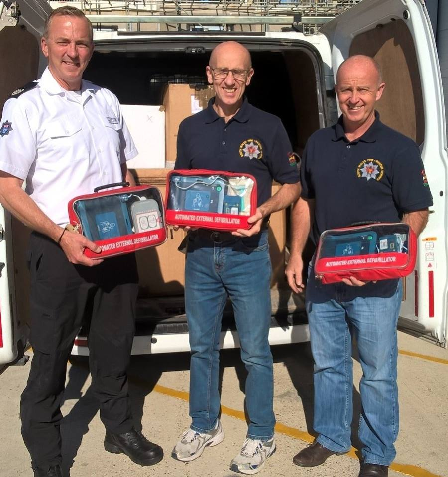 We've donated 172 defibrillators to @Fire_AID_UK , the charity who redistributes fire service equipment around the world. Some of the defibrillators are expected to be sent to charities based in #Serbia, where they will be used to save lives.